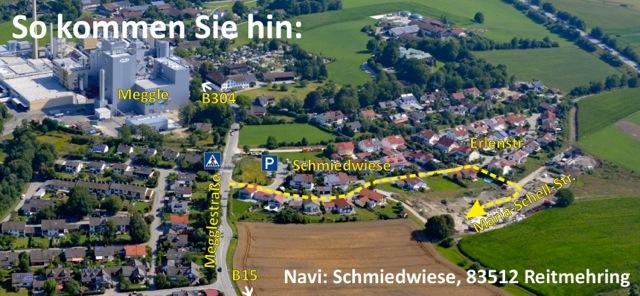 © Marie Theres Kroetz Relin - Anfahrt Maria-Schell-Straße