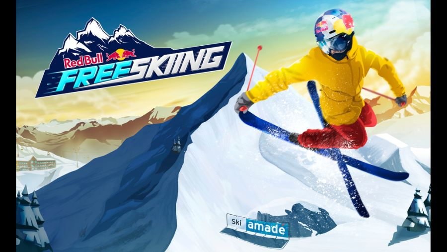 Skiparadies Zauchensee: Red Bull Free Skiing Mobile Game (c)RedBull