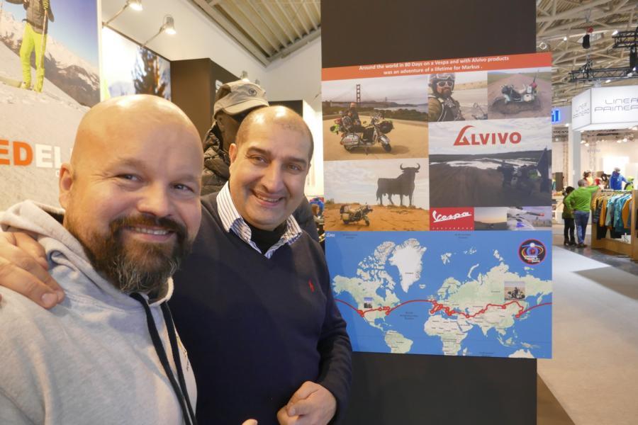 Das haben wir für euch auf der ISPO 2019 entdeckt - Alvivo - Giacomo Casale und Markus Mayer