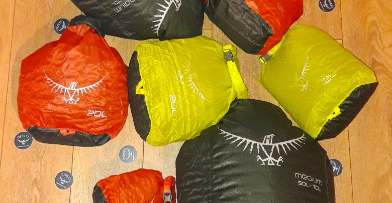 Photo of Aktuell im Test: Ultralight DrySack Packsack von Osprey