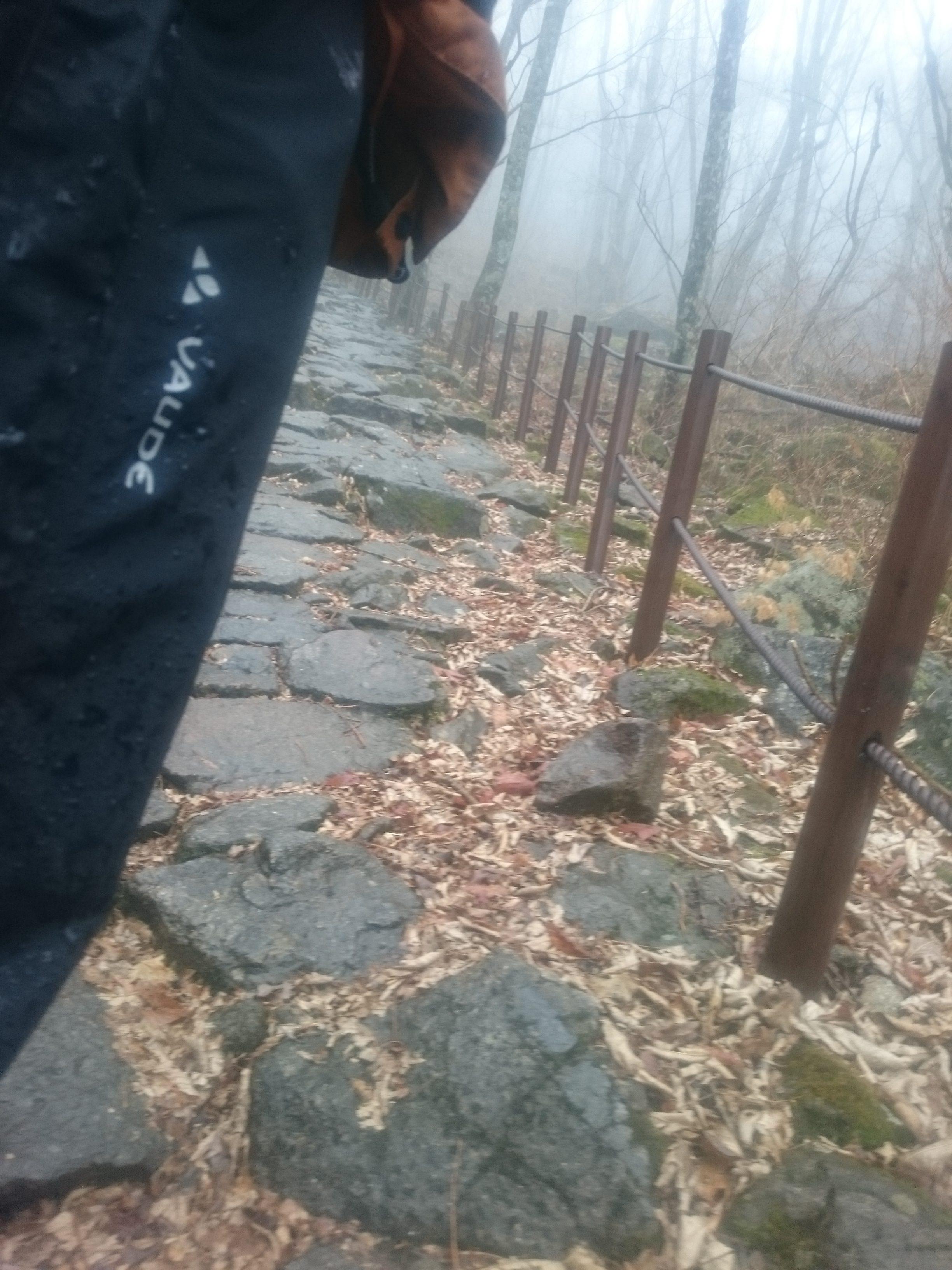 Vaude Men's Yara Rain Pants - Jirisan Nationalpark (Südkorea)