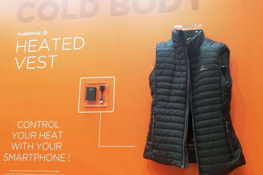 ISPO 2019 - Warmer Rücken, cooler Kopf - Wärmeprodukte von Thermic