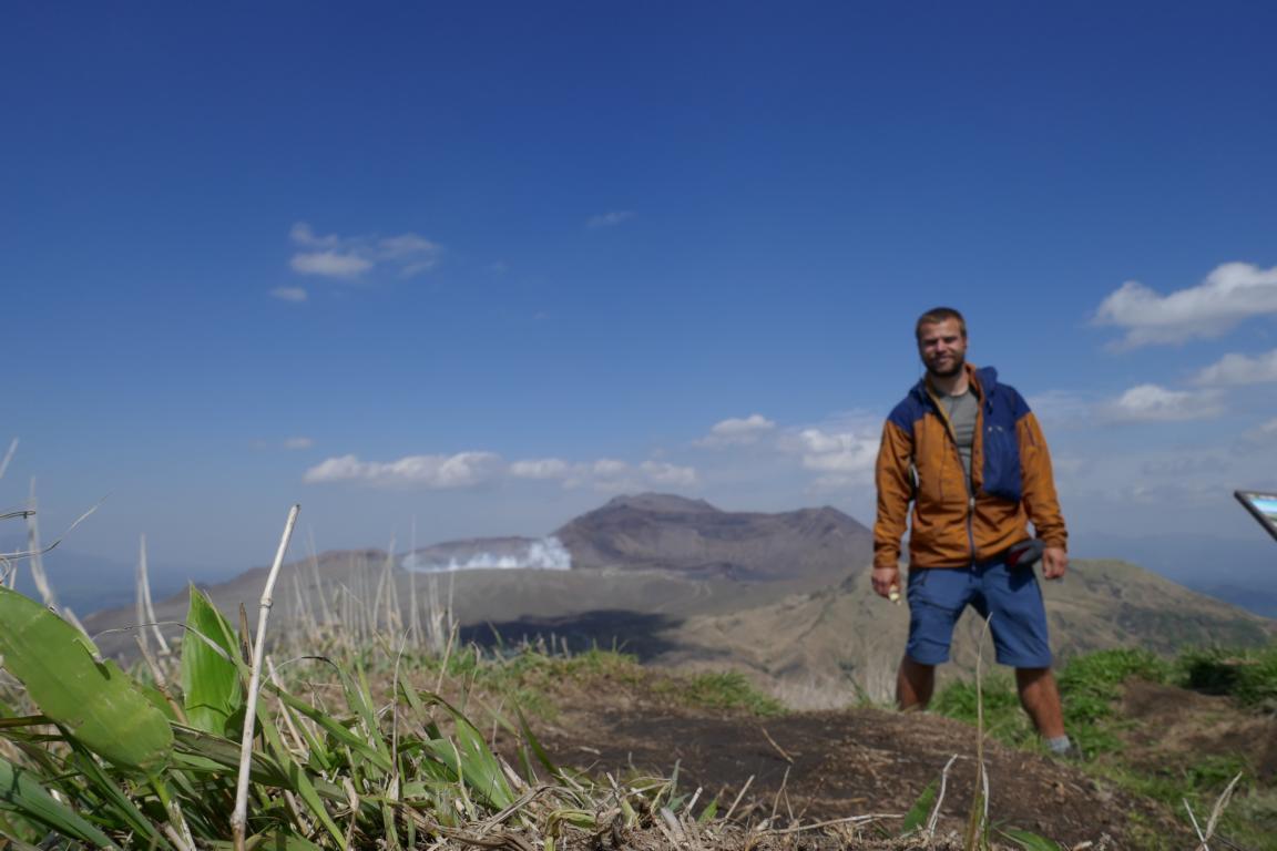 Paramo Enduro Jacket - Aso-Krater, der größte Vulkan-Krater der Welt (Kyushu, Japan)