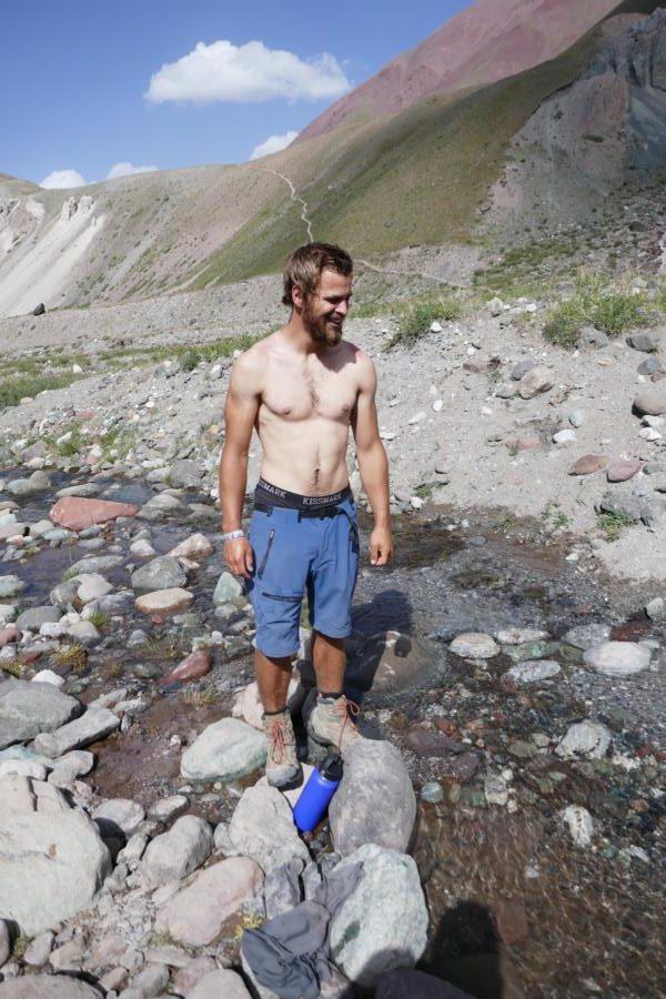 Vaude Badile Zip - Lenin Peak Basecamp (Kirgistan)