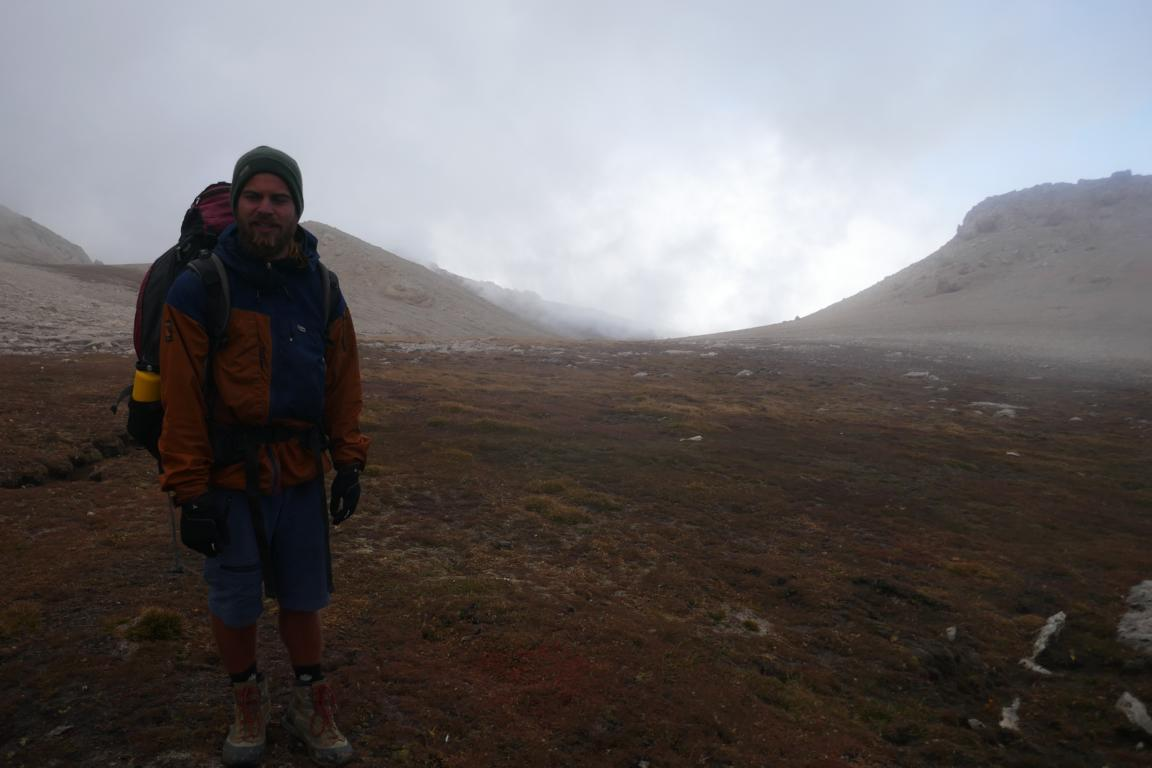 Paramo Enduro Jacket - Wanderung bein eisigen Temperaturen im Kaukasus-Gebirge (Aserbaidschan)