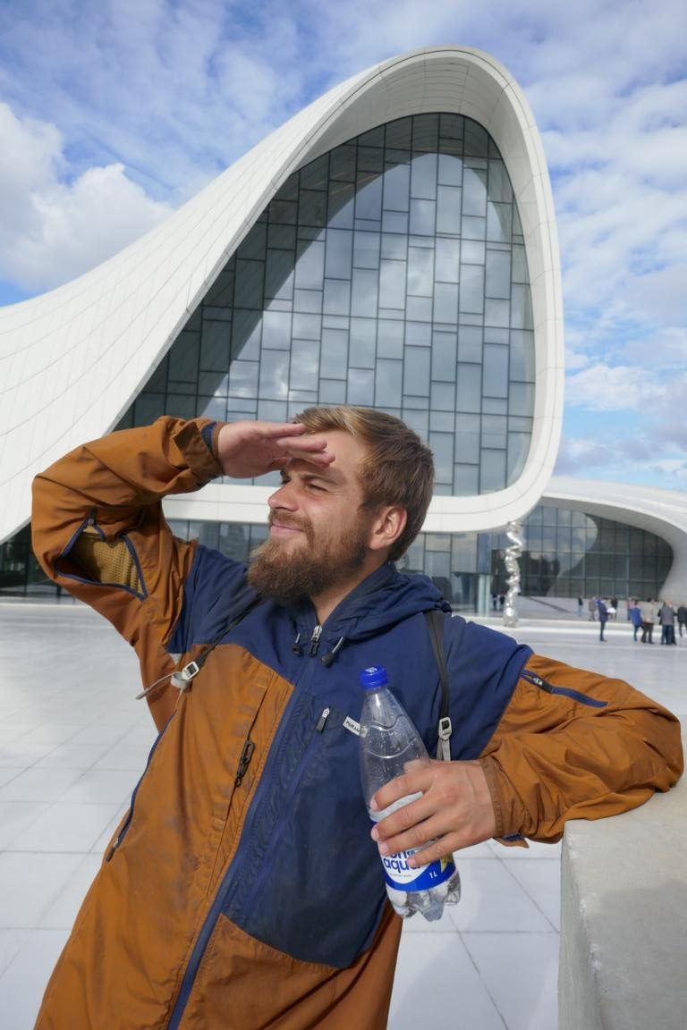 Paramo Enduro Jacket - auch optimal für die Stadt, hier Baku (Aserbaidschan)
