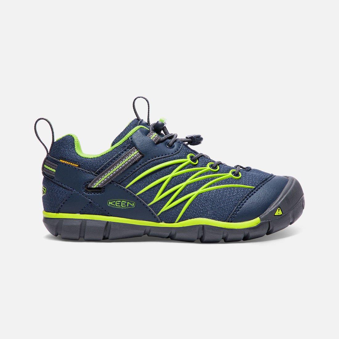Chandler CNX Waterproof Dressblues/ Greenery (c)keenfootwear.com