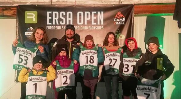 Photo of ERSA OPEN – Snowboard Race Highlight in Seefeld