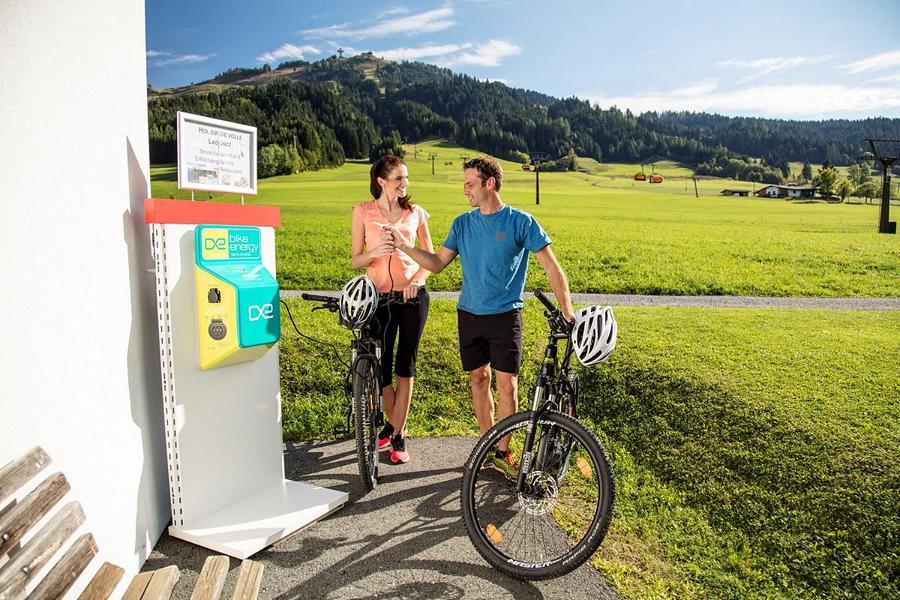 (c) Kitzbueheler Alpen - e-biken im Pillerseetal