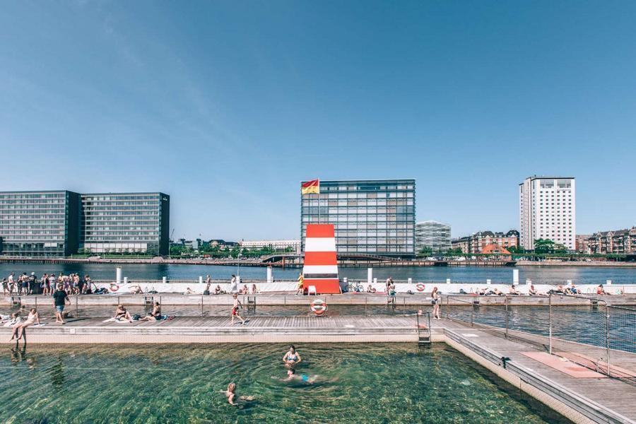 Kopenhagen Havnebadet Islands Brygge ©Astrid Maria Rasmussen