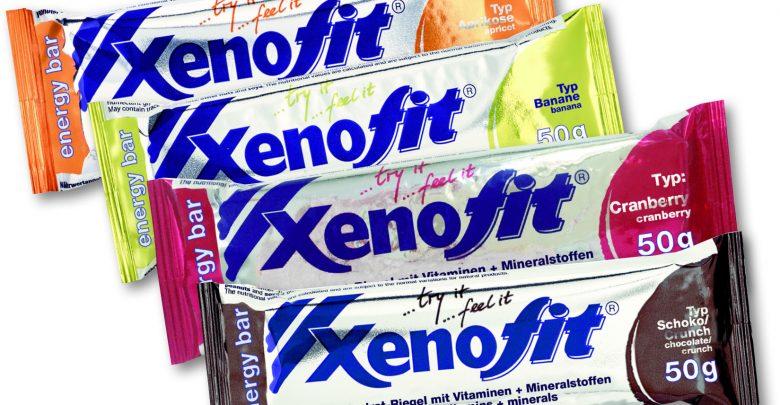 Xenofit energy bar 4er