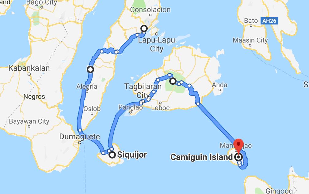 Cebu-Siquior-Bohol-Camiguin - Ein Jahr unterwegs (c)Annika und Timo