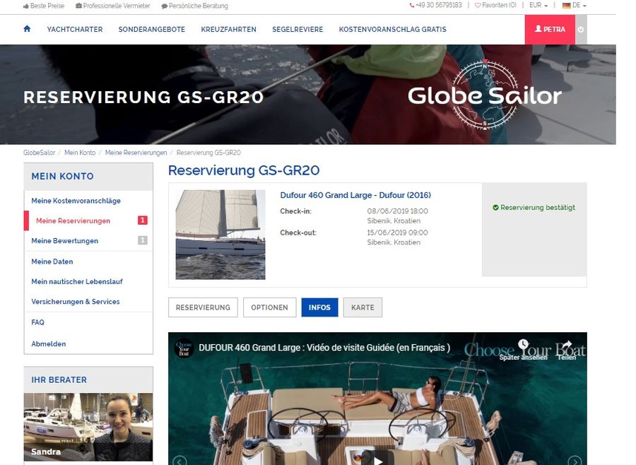 Globe Sailor (c)Screenshot be-outdoor.de