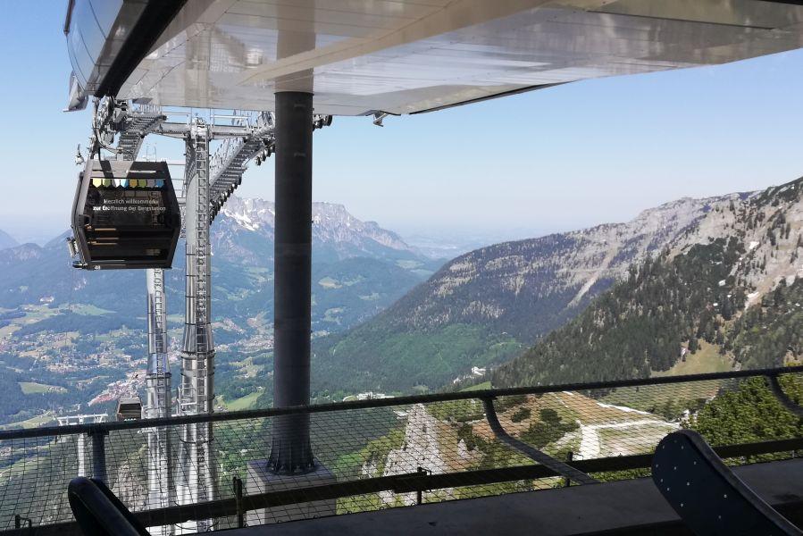 Die Jennerbahn - Ab sofort fährt sie wieder bis zur Bergstation