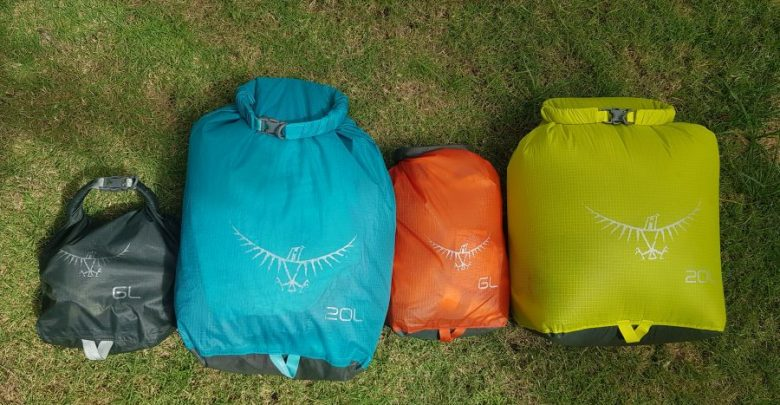 Photo of Härtetest für Osprey Dry Sacks