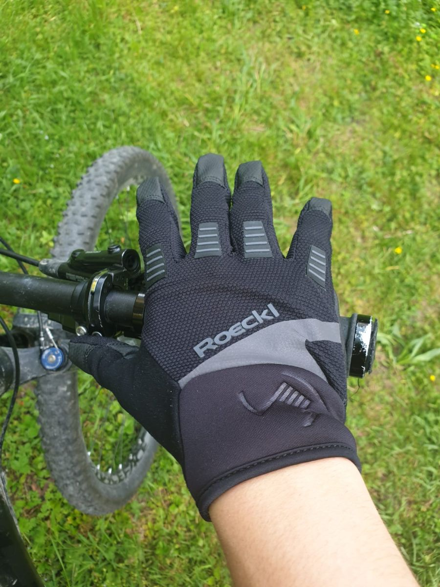 (c) Tim Sobinger - Produkttest Roeckl Handschuh MTB Mangfall