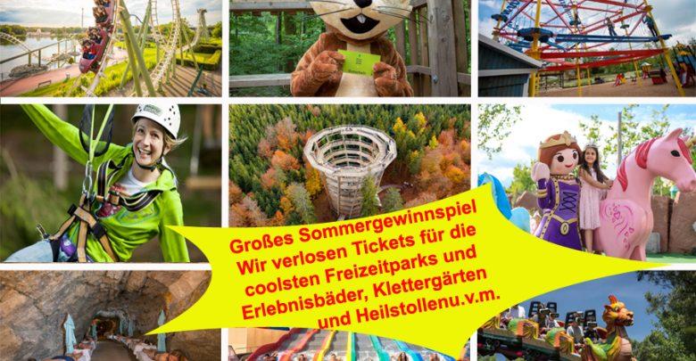 Photo of Die coolsten Freizeitparks-, bäder und vieles mehr  – Sommer-Gewinnspiel auf be-outdoor.de