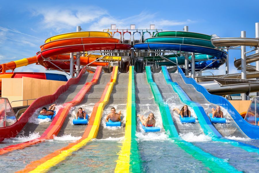 (c)Therme Erding - GALAXY ERDING Sommerrutsche Rainbow Racer