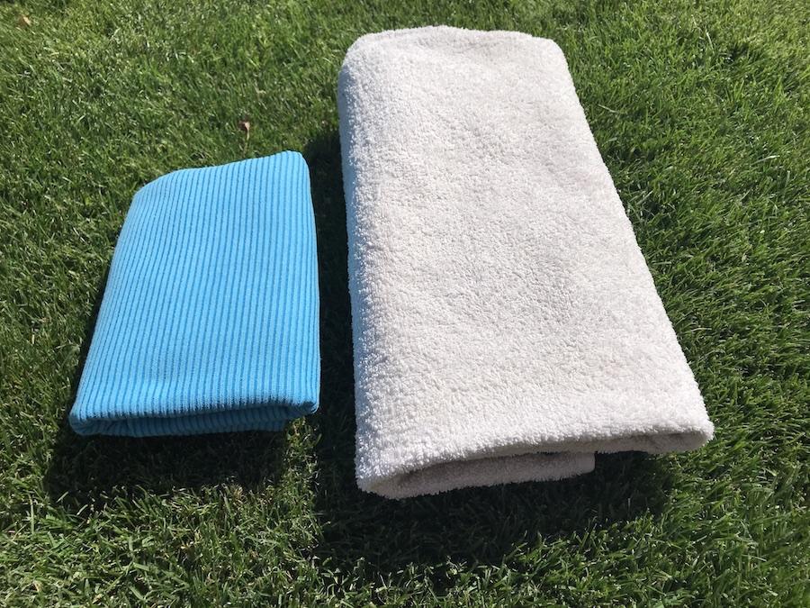 be-outdoor testet: Jack Wolfskin Great Barrier Towel XL (c) be-outdoor.de