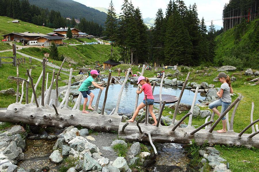 (c) Lindlingalm - Talschluss Action in Saalbach Hinterglemm