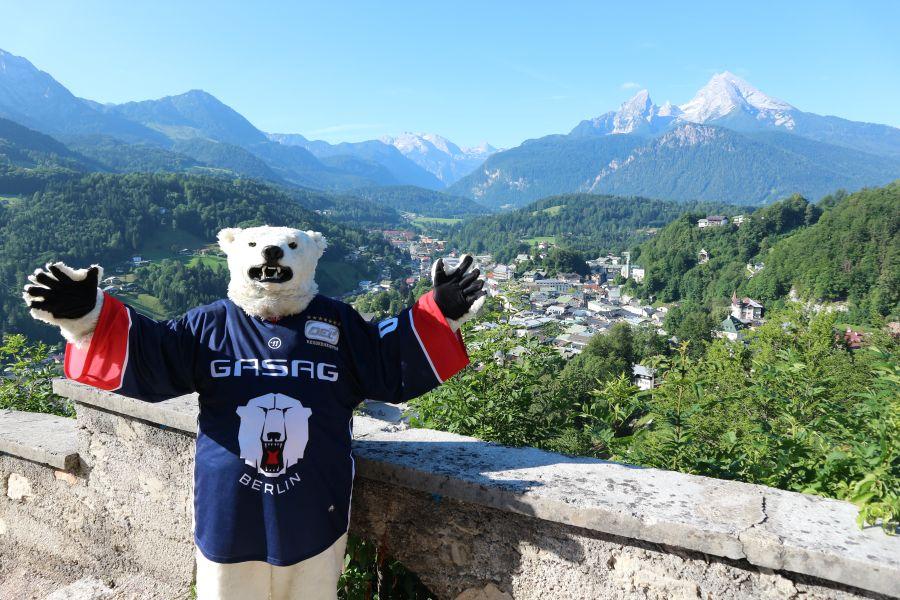 (c) Eisbären Berlin - Eisbären Berlin zu Gast in Berchtesgaden