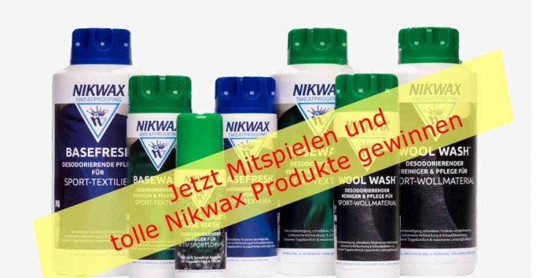 Photo of Neues Gewinnspiel – Die Nikwax Sweatproofing Range