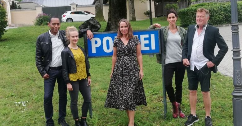 "(c)be-outdoor.de / Petra Sobinger - Dreharbeiten ""Watzmann ermittelt"" September 2019"