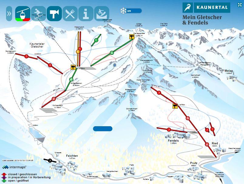 (c)Kaunertaler Gletscher Skimap