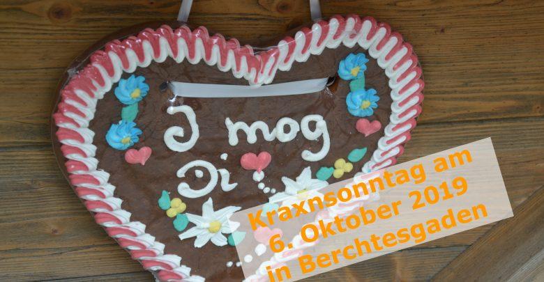 Photo of Kraxn-Sonntag am 6. Oktober im Markt Berchtesgaden