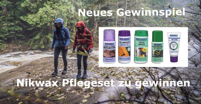 Photo of Neues Gewinnspiel – Nikwax Pflegeset