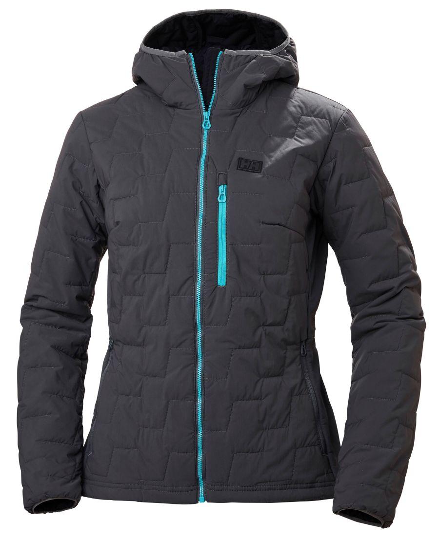 (c)Helly Hansen Women Lifaloft Hooded Stretch Insulator Jacket