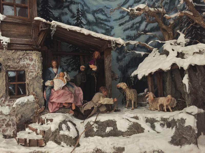 (c)Zimmerer und Krippenbaumeister Hans Ritt - Weihnachtskrippe Tölzer Land