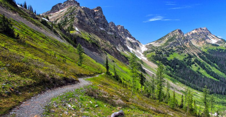 Kurz vor der kanadischen Grenze - der Holman Pass https://northwesternimages.wordpress.com/2012/06/07/pacific-crest-trail-holman-pass-to-the-canadian-border/