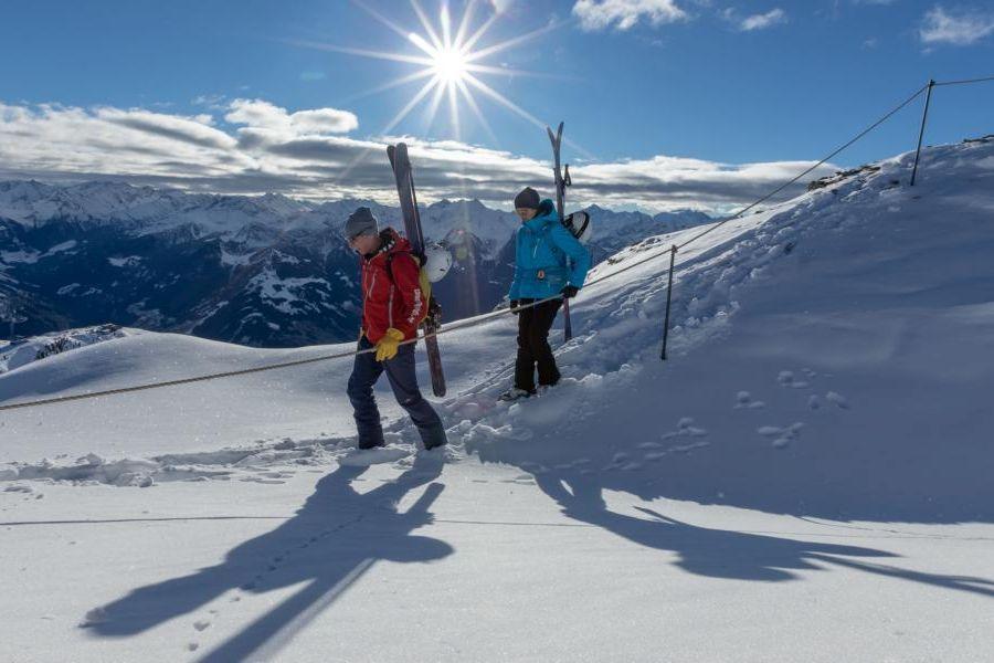 (c)Winterklettersteig & Alpinsteig Hochzillertal Kaltenbach