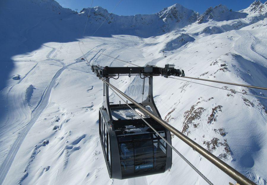 (c)Falglinjochbahn - Kaunertaler Gletscher