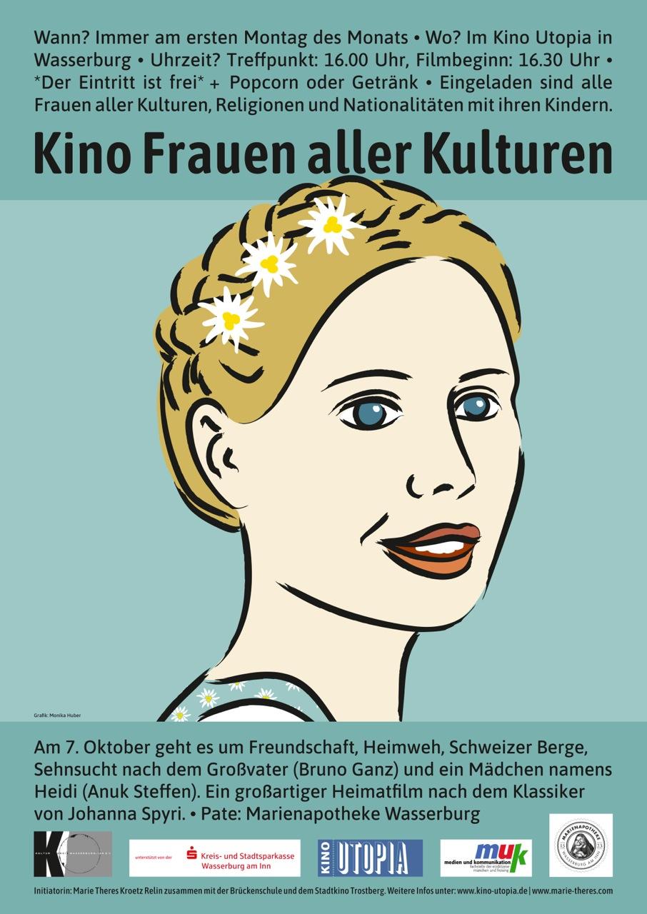 (c)Plakat Freuenkino - Monika Huber