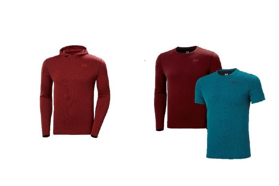 (c)Helly Hansen // Lifa Active Solen Hoodie und Lifa Active Solen T-Shirt und Lifa Active Solen LS