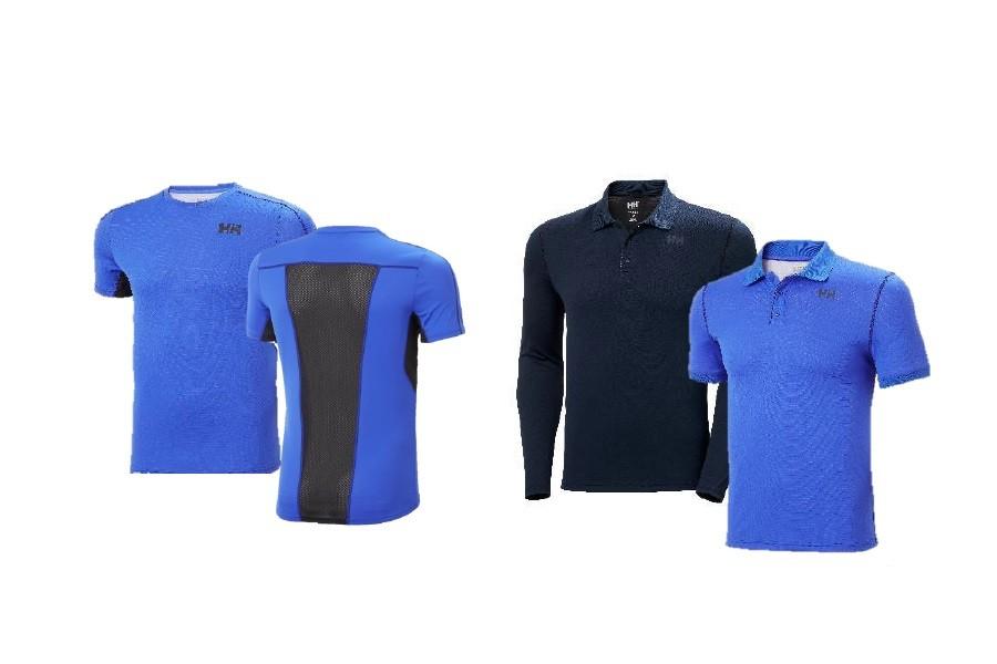 (c)Helly Hansen // Lifa Active Solen Mesh T-Shirt und Lifa Active Solen LS Polo und SS Polo
