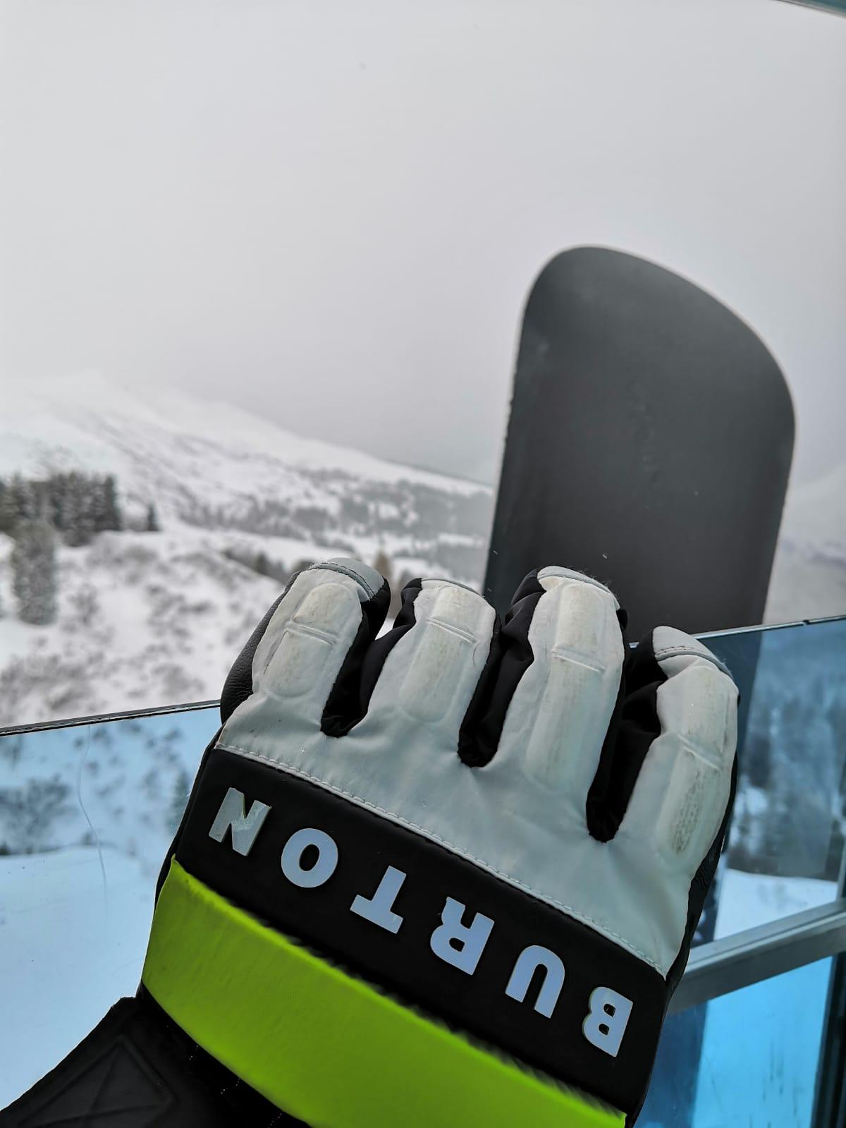 Burton Backtrack Handschuh - Snowboarden im Parsenn Skigebiet