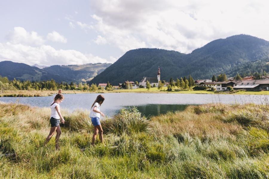 © Tirol Werbung Robert Pupeter - Kinderspaß am PillerseeTal