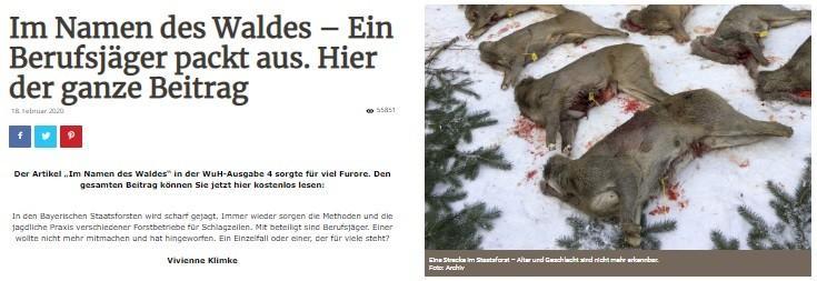 """Photo of Wald & Hund """"Im Namen des Waldes"""" – Ein Berufsjäger packt aus"""