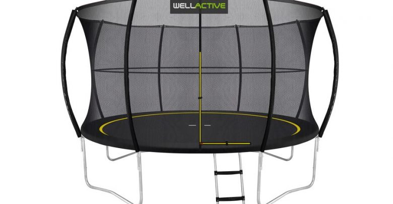 Aktuell Im Test Wellactive Trampolin Sprungsicher Be Outdoor De