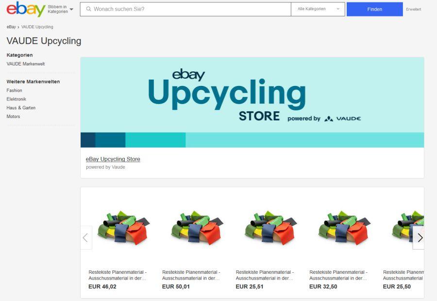 (c)VAUDE eBay Upcycling Store_ Restekiste