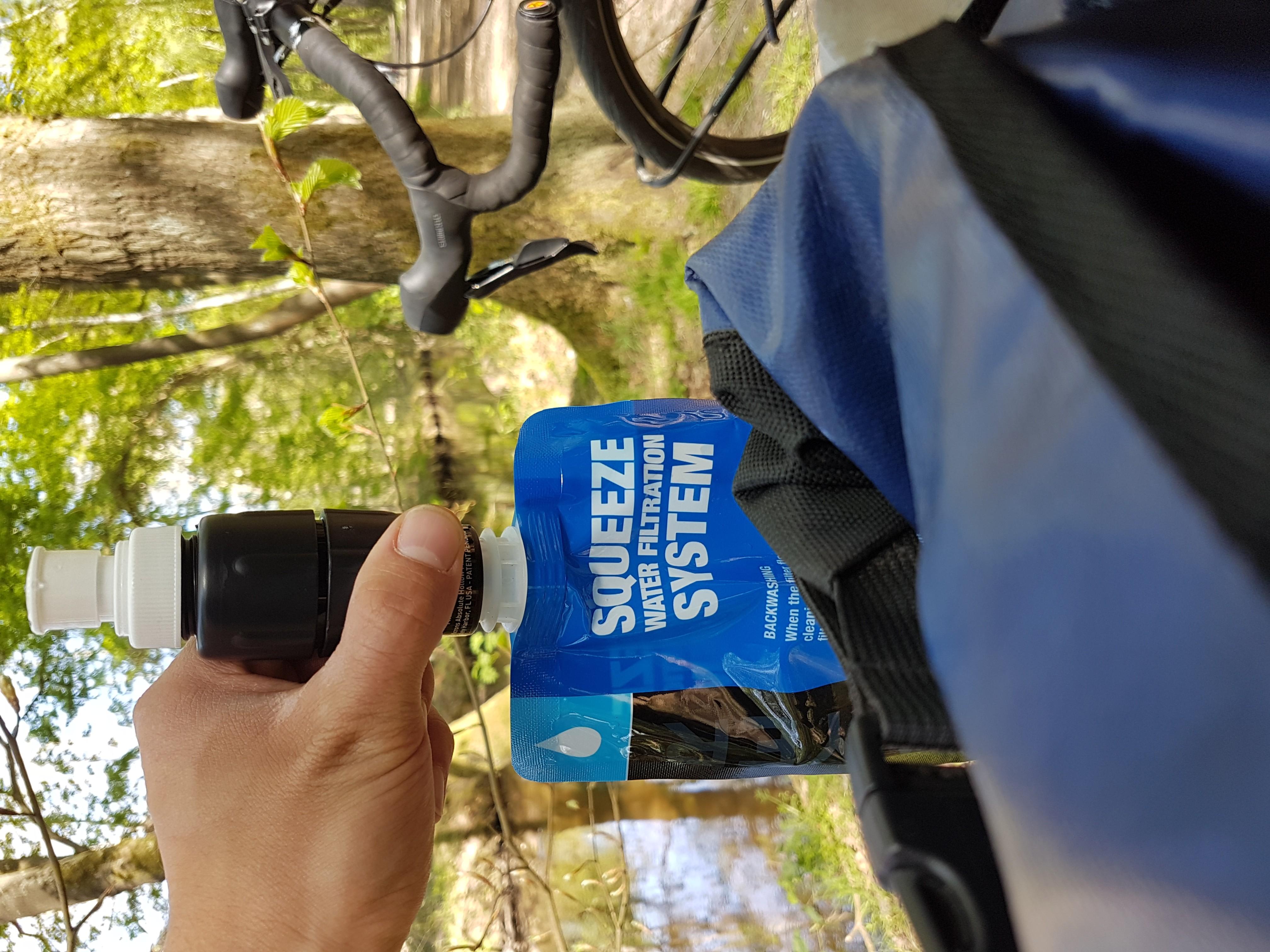 Sawyer Micro Squeeze Wasserfilter - schnell und super rein gefiltertes Wasser!