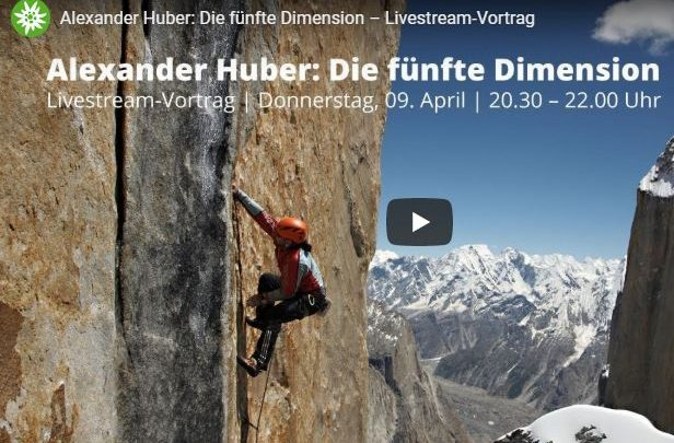 Photo of DAV – Livestream-Vortrag mit Alexander Huber