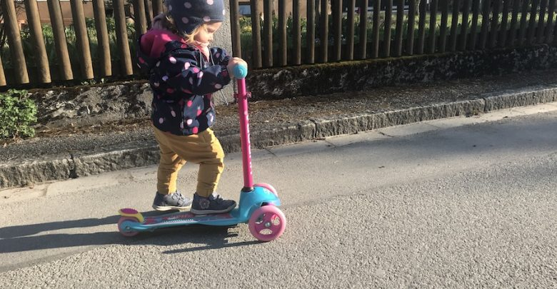 Photo of Aktuell im Test – Hudora Scooter Flitzkids