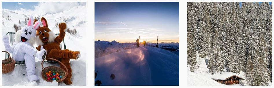Skiparadies Zauchensee - Instagram