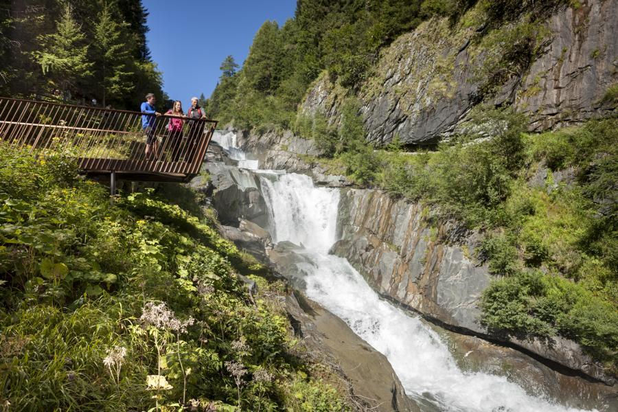 (c)Nationalpark Hohe Tauern Martin Lugger OST Weitwandern - Umbalfälle/Prägraten