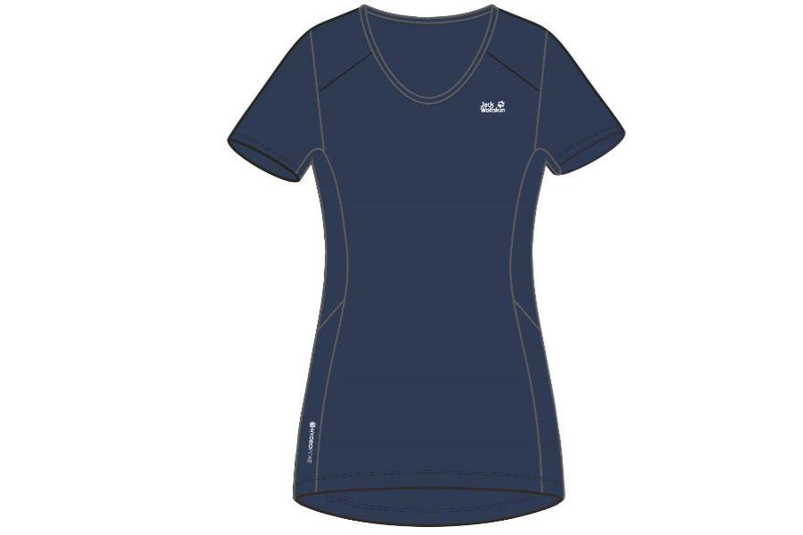 (c)Jack Wolfskin Narrows T-Shirt Women