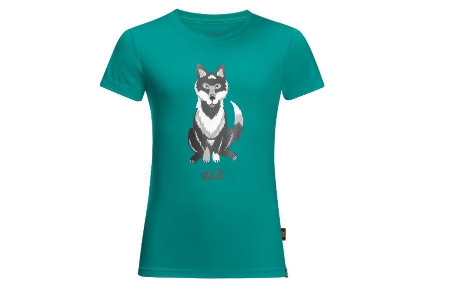 (c)Jack Wolfskin Wolf T-Shirt Kids - be-outdoor